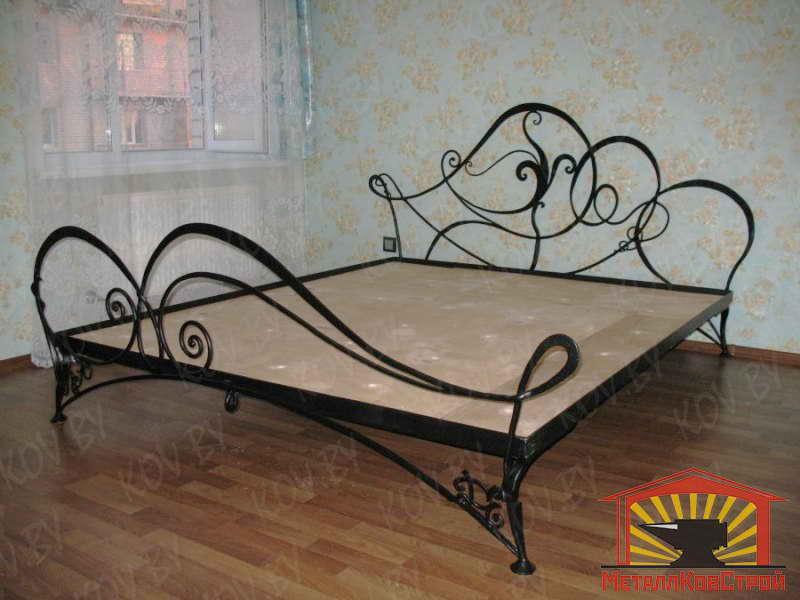 Кованая Кровать №008