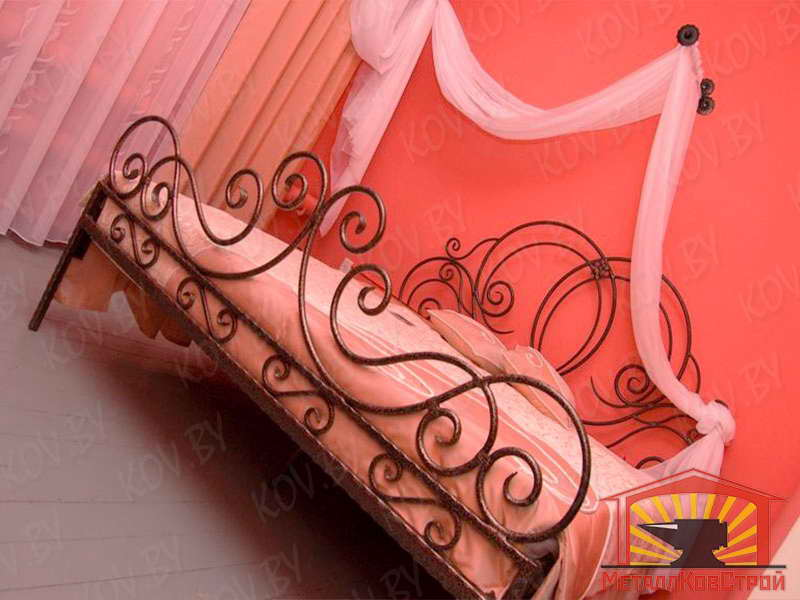 Кованая Кровать №009