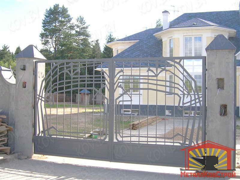 Ковка Ворота №025