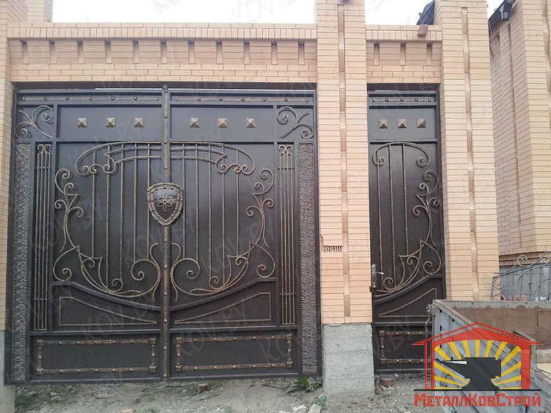 Штамповка Ворота №058