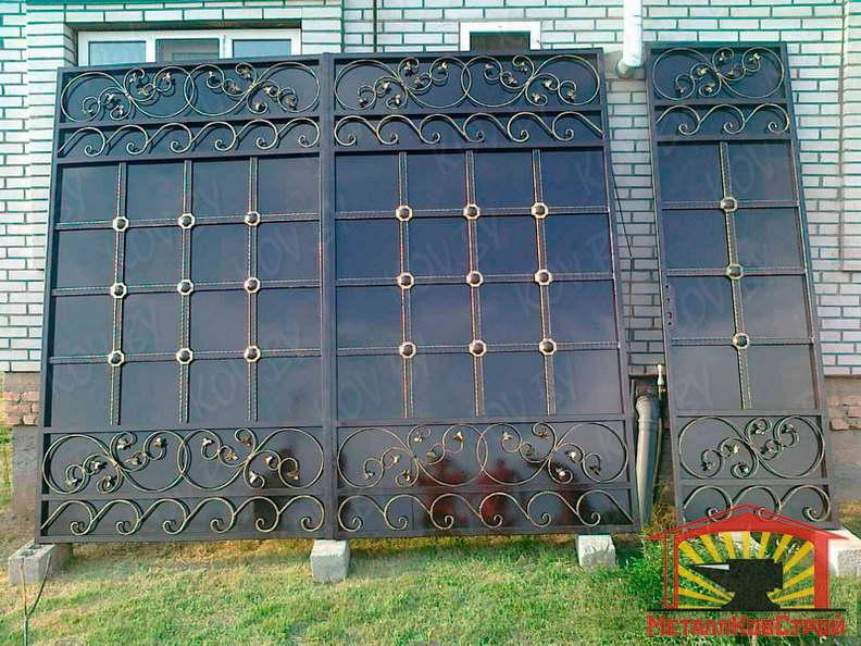 Штамповка Ворота №071