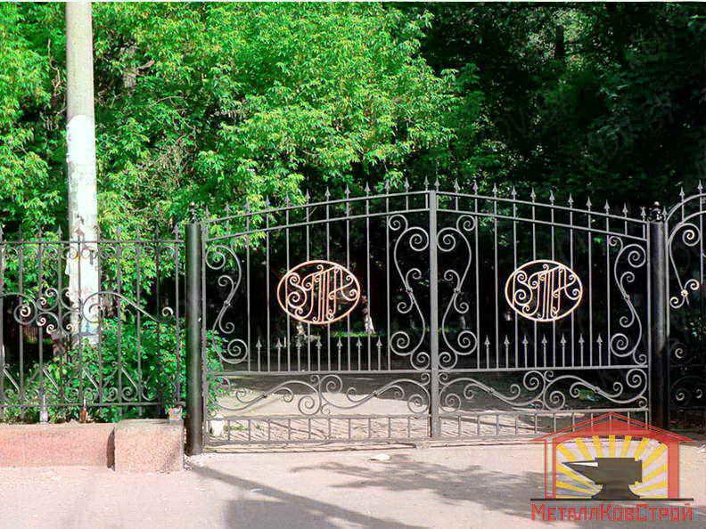 Штамповка Ворота №019