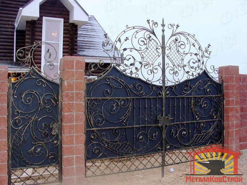 Ковка ворота №071