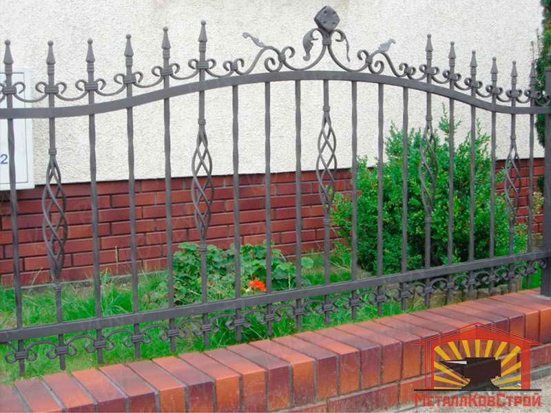 Забор кованый №043