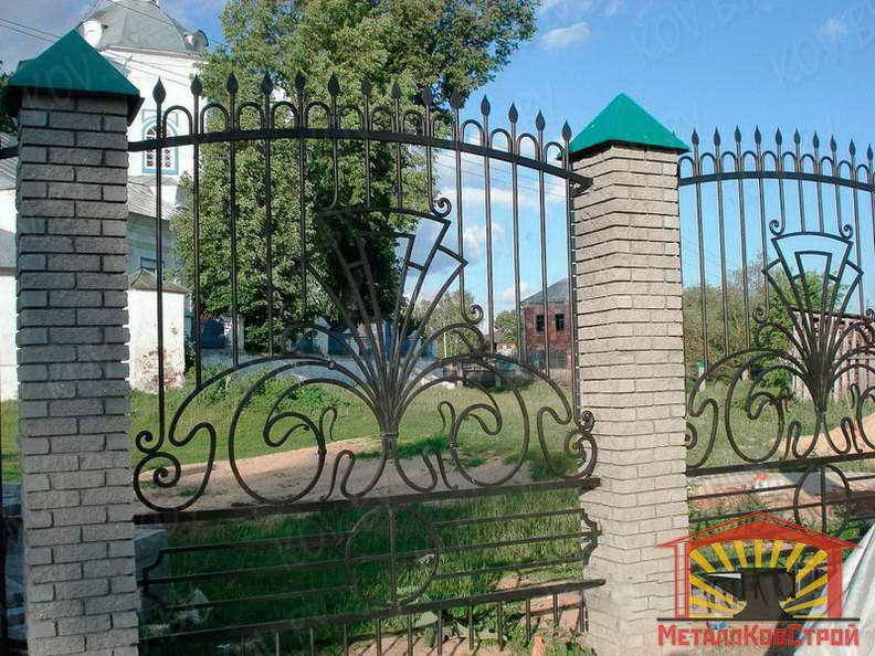 Забор кованый №051