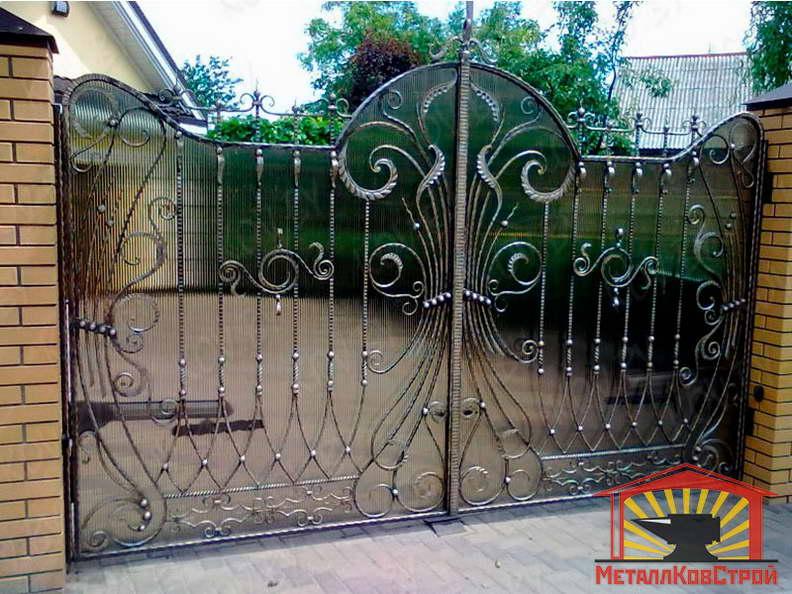 Ковка Ворота №015