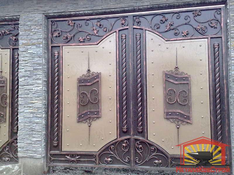 Ковка Ворота №118