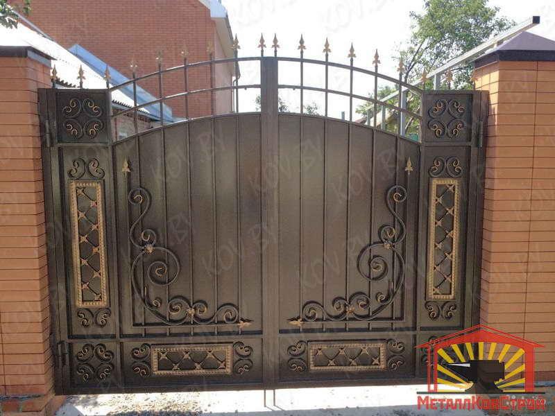 Штамповка Ворота №041