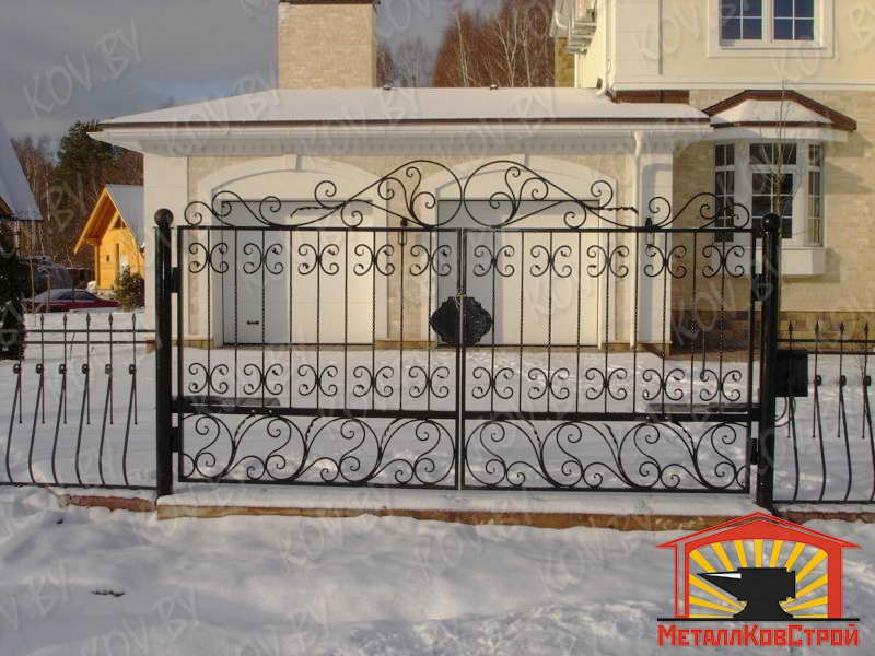 Ковка Ворота №009
