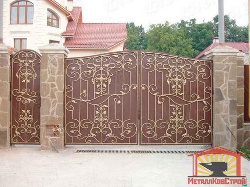 Штамповка Ворота №025