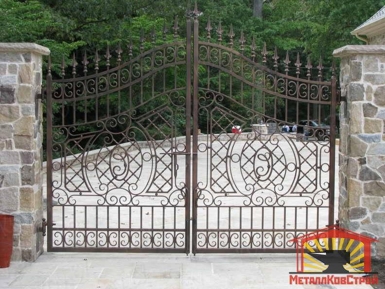 Штамповка Ворота №037