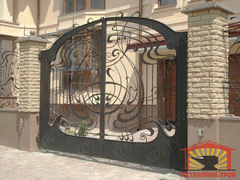 Ковка Ворота №003