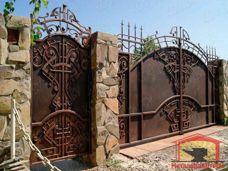 Ковка ворота №069