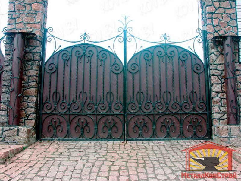 Ковка Ворота №030