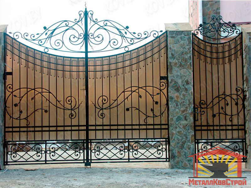 Ковка Ворота №013