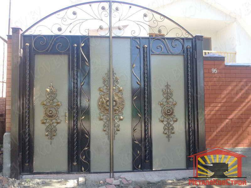 Ворота116 как сварить ворота 4 метра