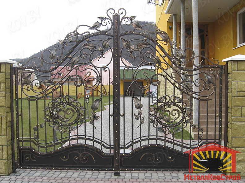 Ковка Ворота №051