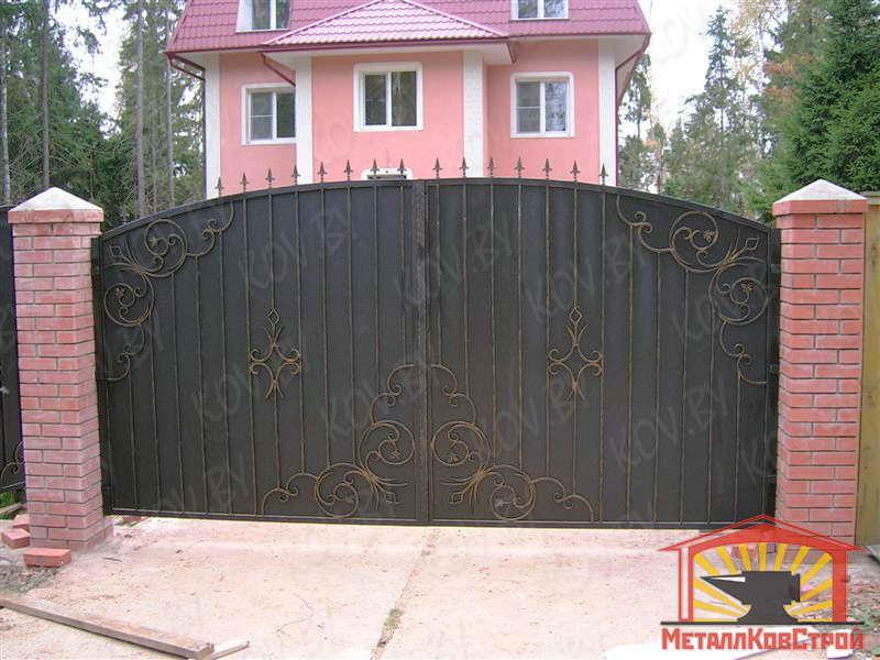 Штамповка Ворота №017