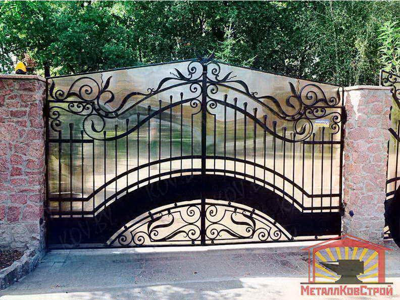 Ковка Ворота №024
