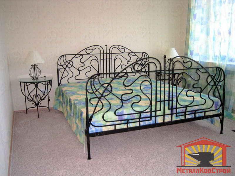 Кованая Кровать №005
