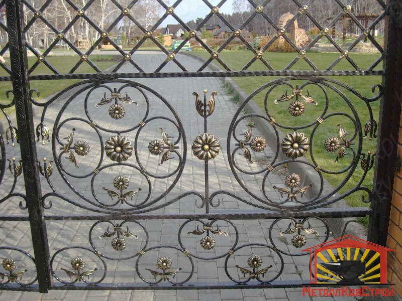 Штамповка Ворота №051