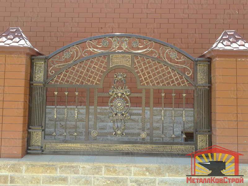 Забор кованый №049