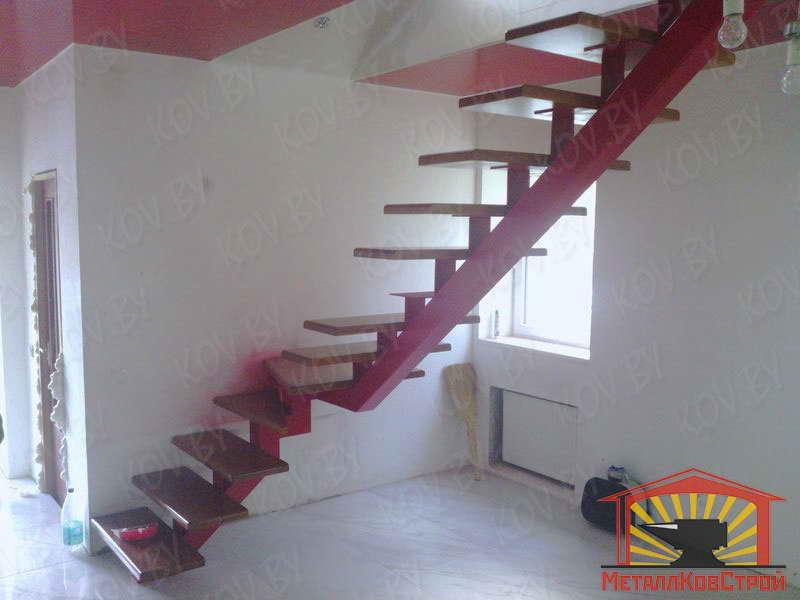 Косоуры металлических лестниц своими руками