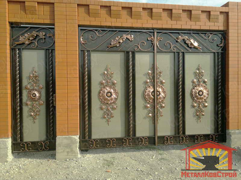 цены на металлические двери и ворота