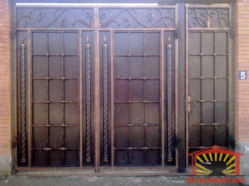 Штамповка Ворота №069