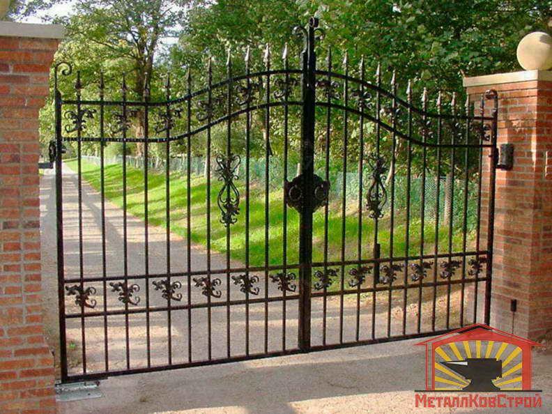 Ковка Ворота №064