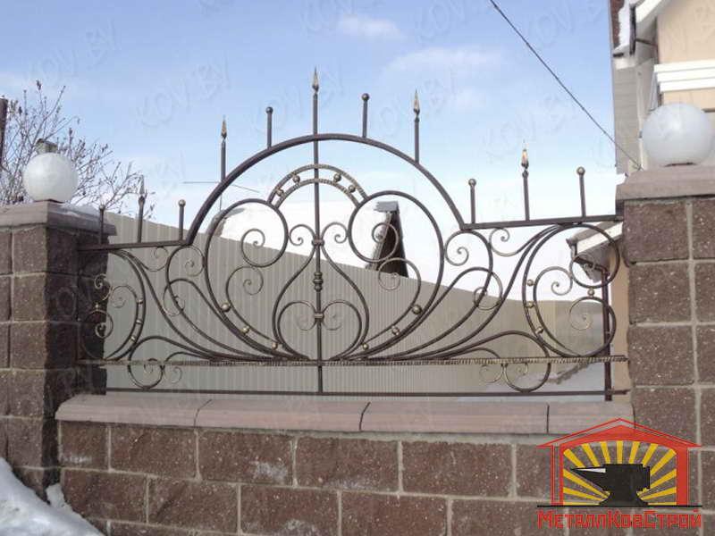 Забор кованый №032