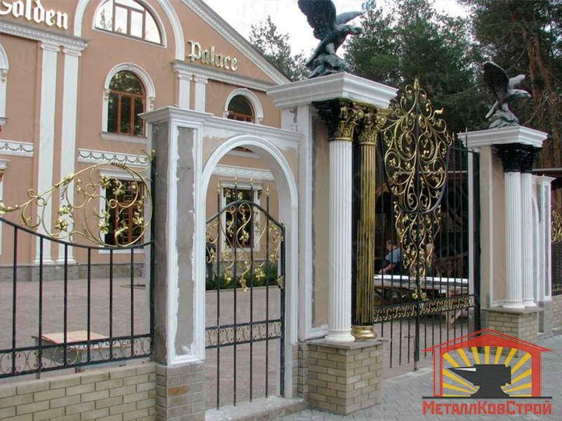 Ковка Ворота №075