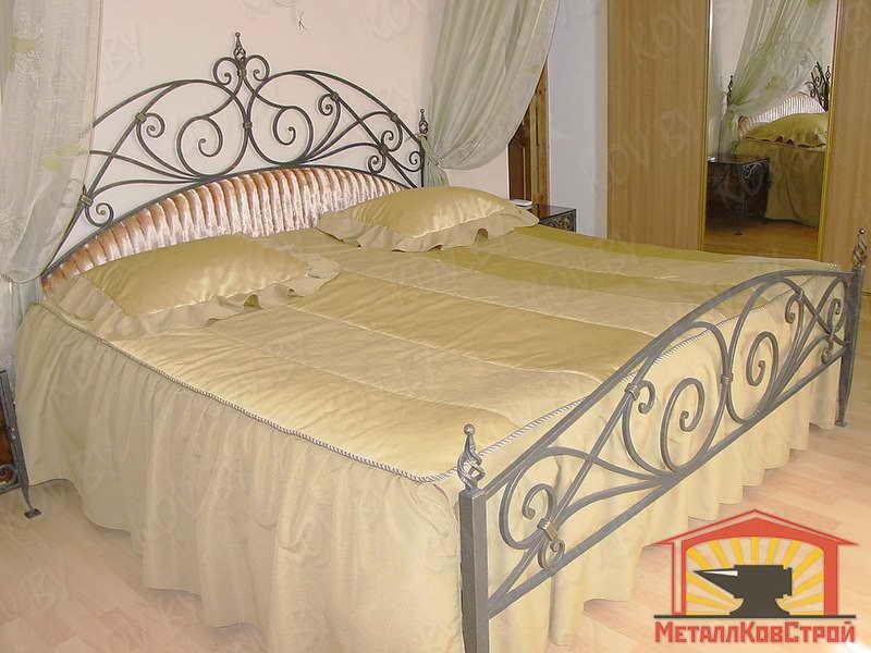 Кованая Кровать №001