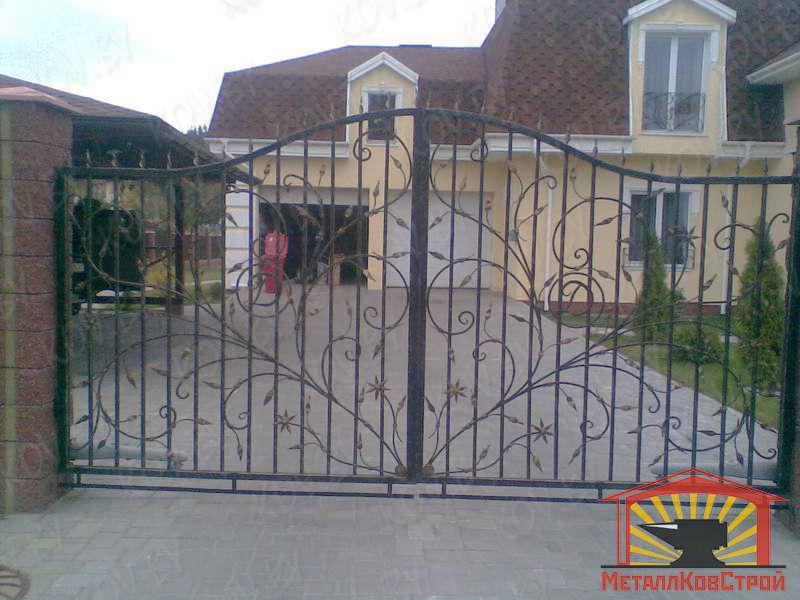Ковка Ворота №007