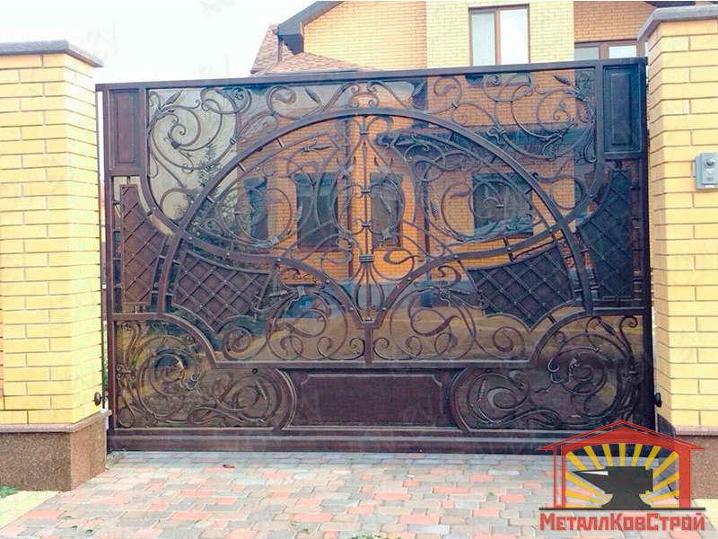 Ковка Ворота №010