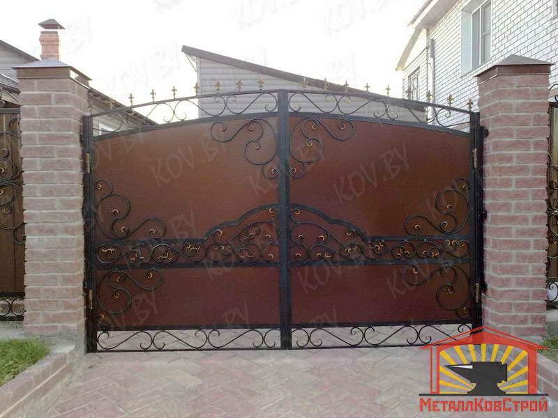 Штамповка Ворота №048