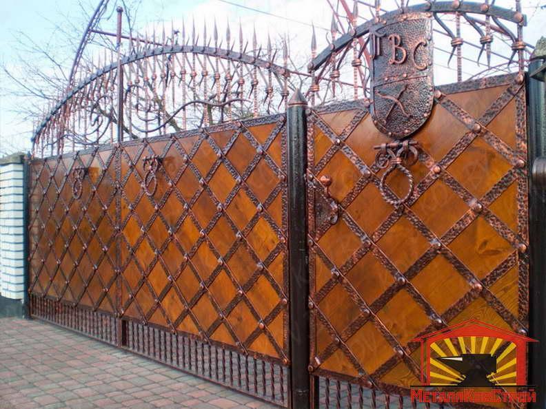 Ковка Ворота №059