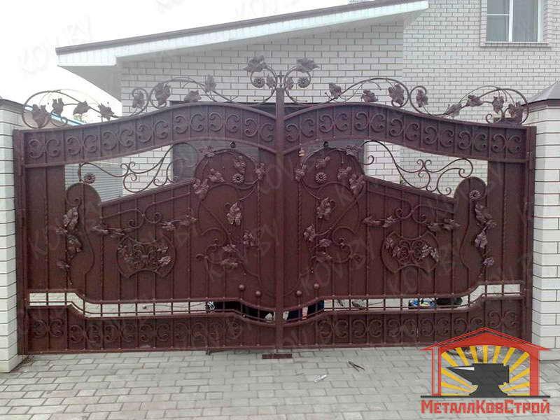 Ковка ворота №072