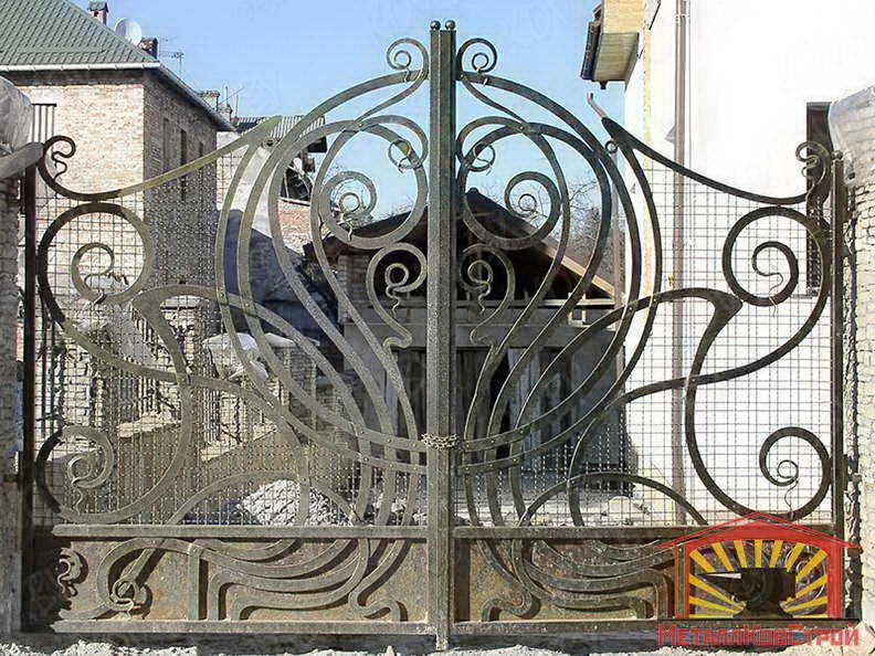 Ковка Ворота №052