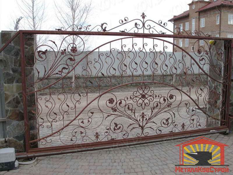 Ковка ворота №068
