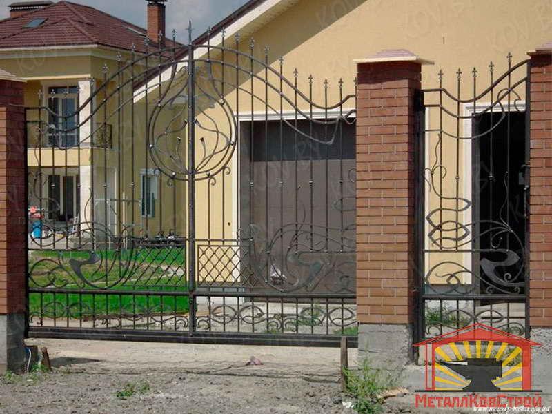 Ковка Ворота №070