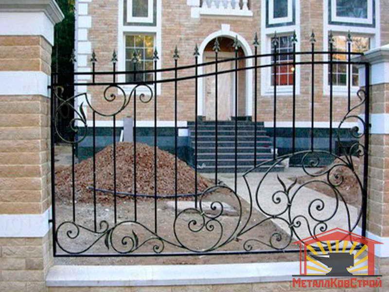Забор кованый №017