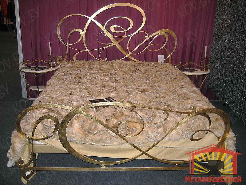 Кованая Кровать №003