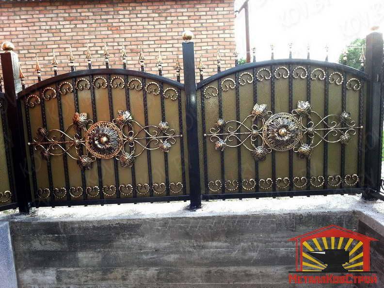 Забор кованый №054