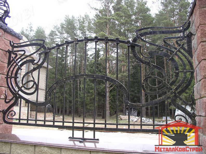 Забор кованый №016