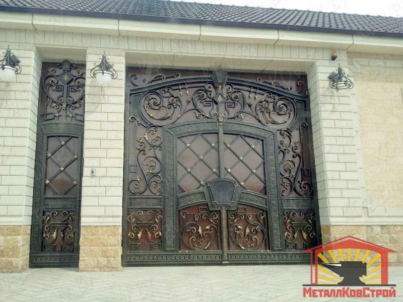 Ковка Ворота №096