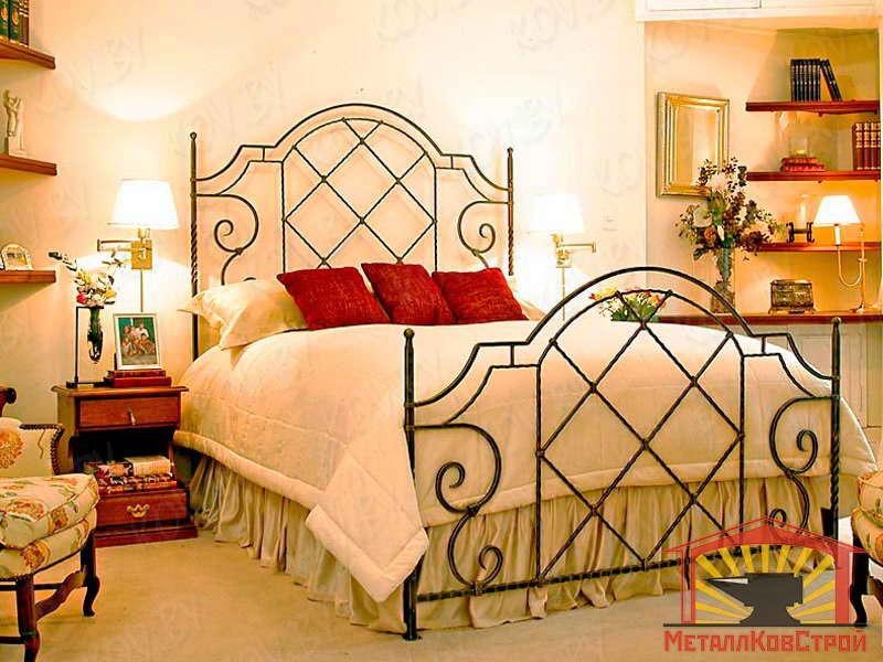 Кованая Кровать №010
