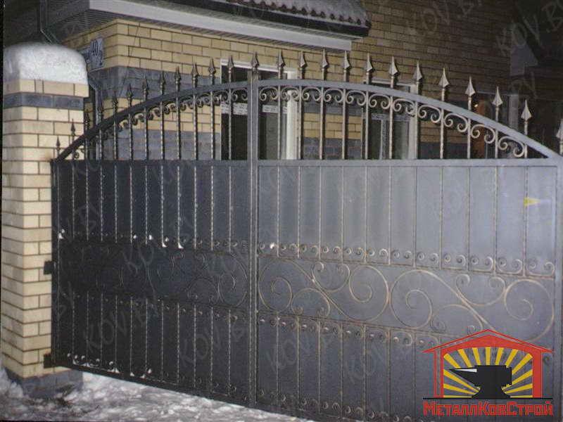 Штамповка Ворота №016