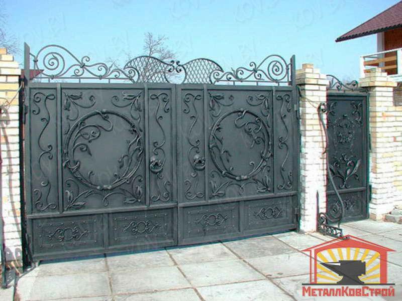 Ковка Ворота №177