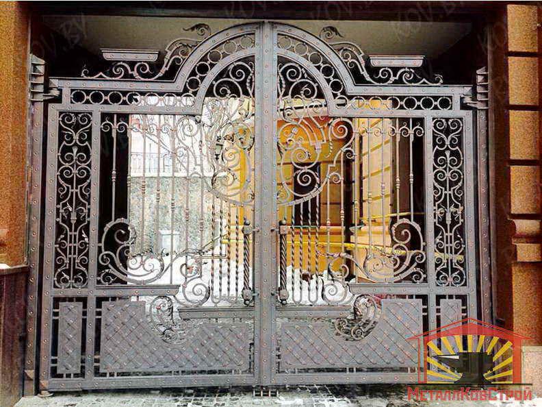 Ковка Ворота №027